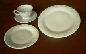 Dinner Plates French Ivory