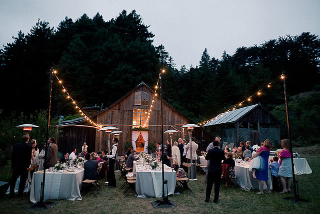 Globe Light Wedding Als Bend Party Oregon