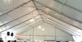 May 2016 Wedding in Bend Oregon | Keder Tent & Stage