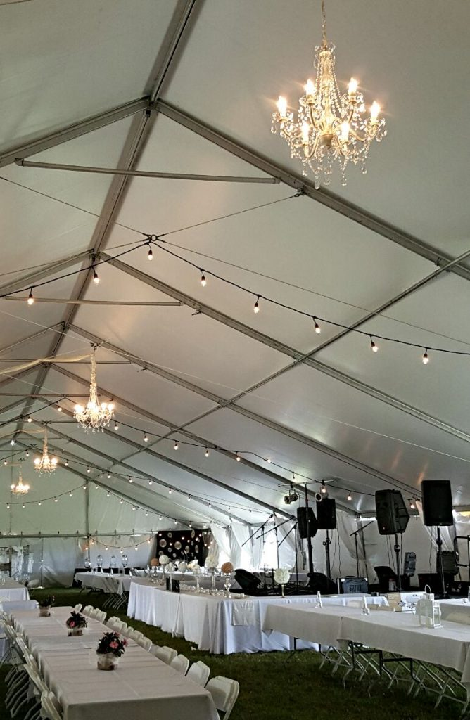 bend oregon tent rental